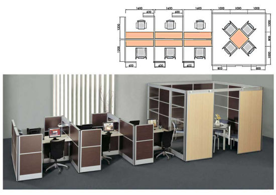 Generous Adjustable Table Partitions (800-SC02)