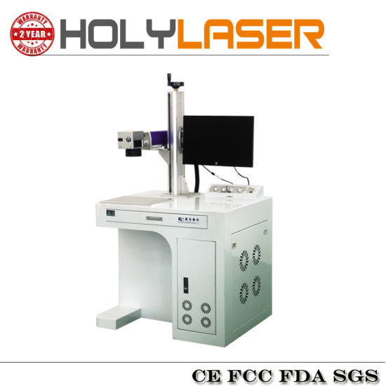 High Speed Easy Carry Fiber Laser Marking Machine Hsgq-100W pictures & photos