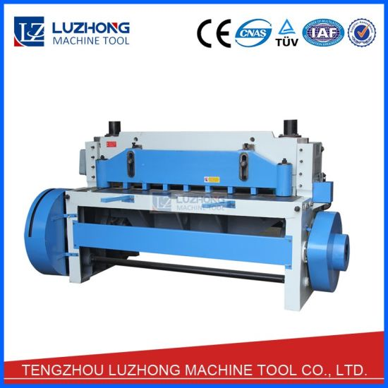 Q11-6X2000 Mechanical Type Guillotine Shearing Machine pictures & photos