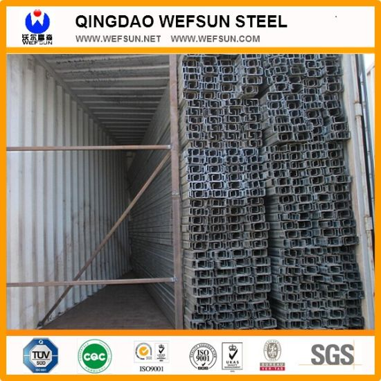 Structural Galvanized Steel C Channel pictures & photos