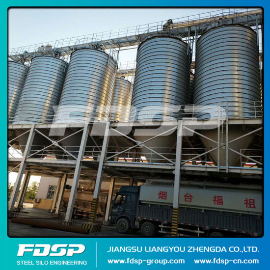 The Most Suitable Steel Silo for Grain Storage Chicken Feed Silo pictures & photos