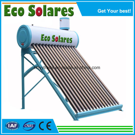 150L Evacuated Tube Solar Water Heater with Top Mounted Assistant Tank