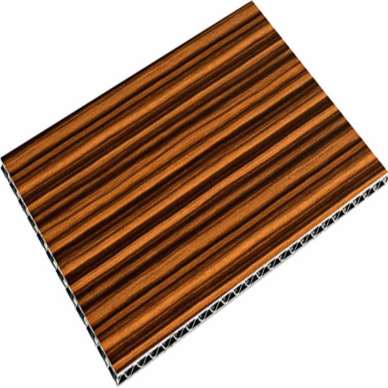 12 Textures of Wooden Grain Aluminum Sandwich Panel of ACP Wall Material
