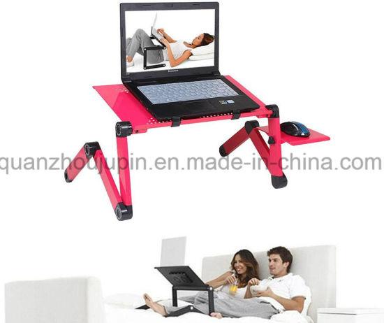 OEM Foldable Folding Adjustable Laptop Sofa Bed Desk Table