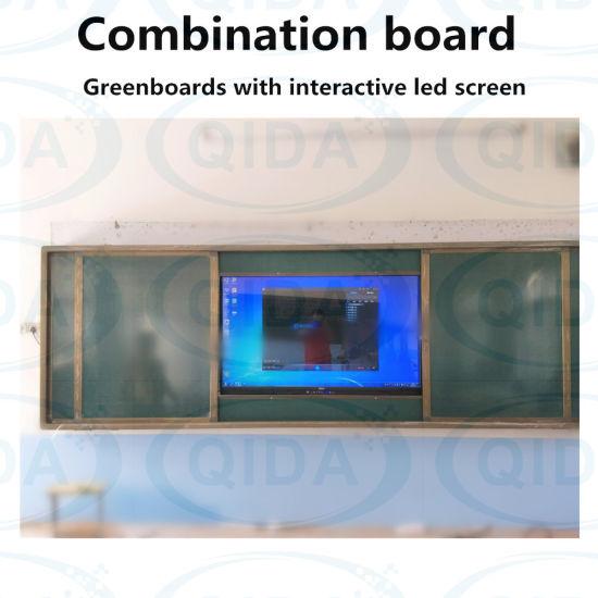 Multi-Touch Digital Smart Education Windows System Computer Interactive  White Board for Multi-Media Classroom