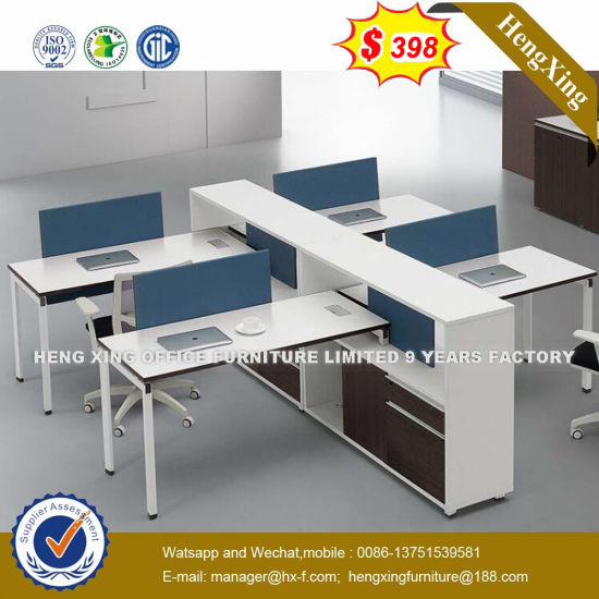 Guangdong Standing Workstation Table Oak Color Office Furniture Desk Hx 8n0562
