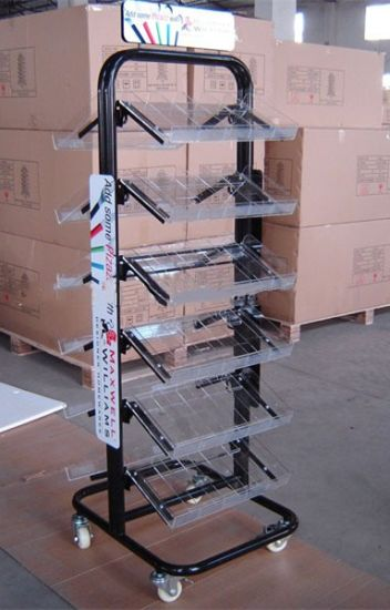 Detachable Advertising Display Metal Wire Rack Display Stand pictures & photos