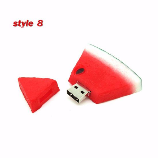 Watermelon-Shaped USB Flash Drive for Promotional Gift pictures & photos