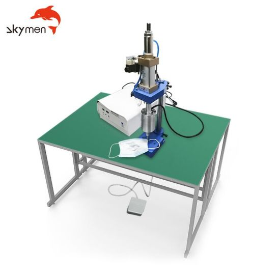 Ultrasonic Welding Machine for Ear Loop 35kHz with Generator 500W