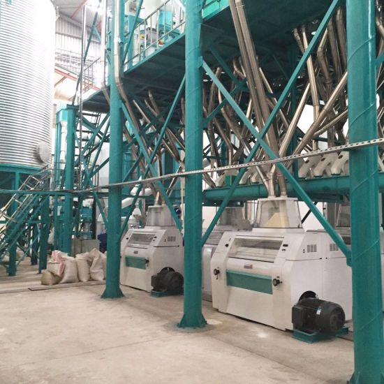 High Standard Commercial Corn Maize Meal Flour Mill Milling Equipment pictures & photos
