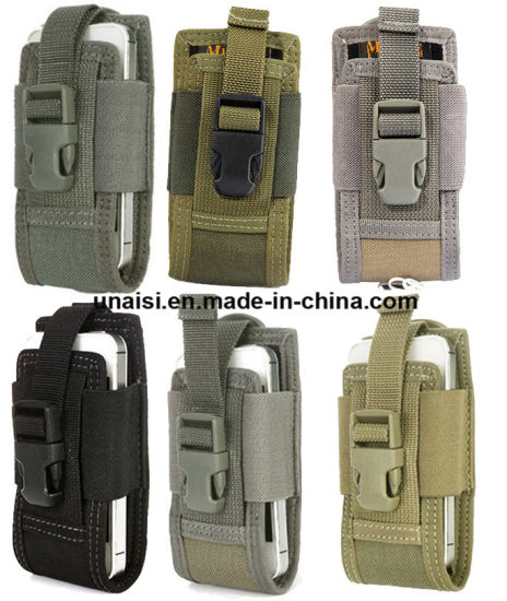 uk availability f3e12 cc21c Waterproof Nylon Cellphone Carry Case Holder Holster Mobile Phone Pouch
