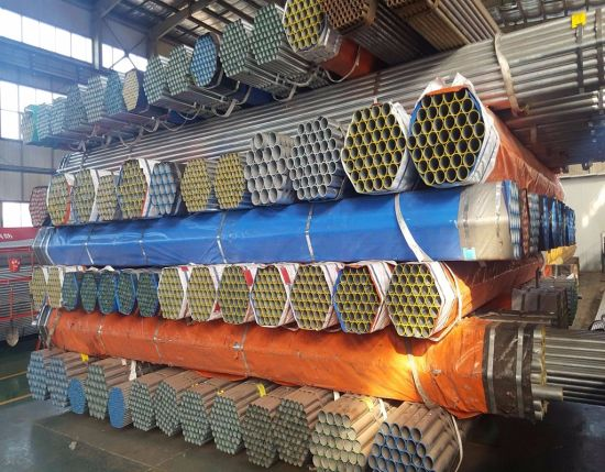 Best Supplier Youfa Brand Schedule 40 Galvanized Steel Pipe pictures & photos