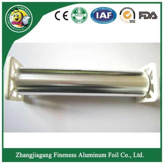 2018 New Household Aluminum Foil Roll Packed Corrugated Box with Plastic Tray