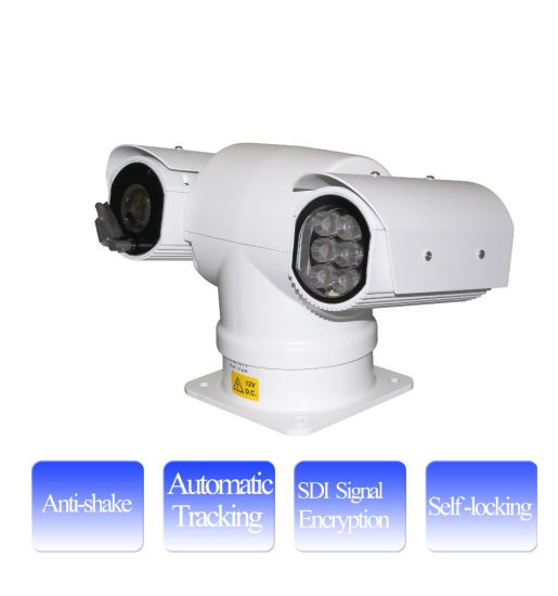 Self Locking Infrared 2MP 1080P Analog PTZ Vehicle Mounted Camera
