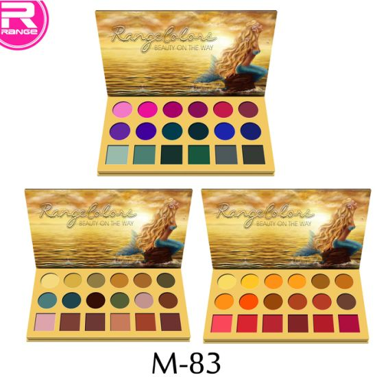 Mermaid Gold Makeup Palette 18 Color Eyeshadow Palette pictures & photos