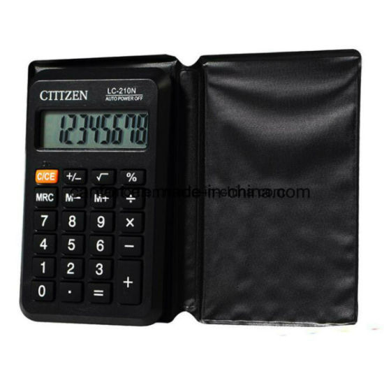China pocket mini foldable electronic calculator with cheap price.