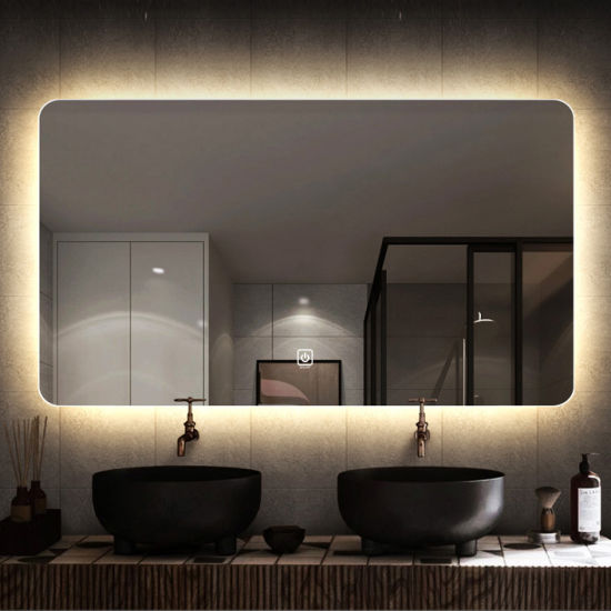 Light Dressing Up Mirror Dimmable Led, Luxury Vanity Mirror With Lights