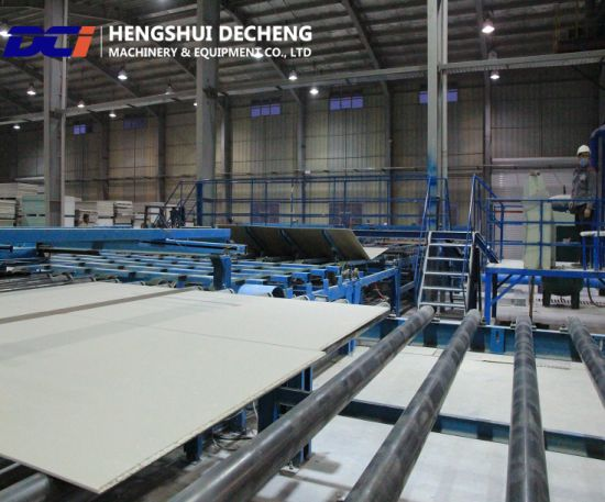 Paper Surface Gypsum Board Engineering Production Line