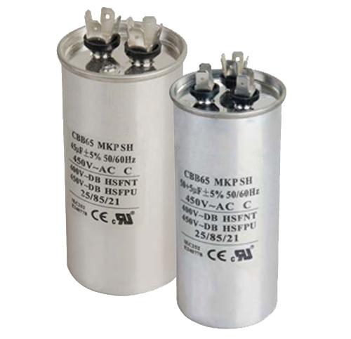 Aluminum AC Motor Capacitor