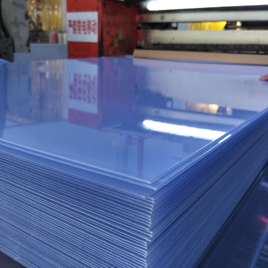 graphic about Printable Transparency named China Printable Obvious Strict 4X8 PVC Plastic Sheet - China