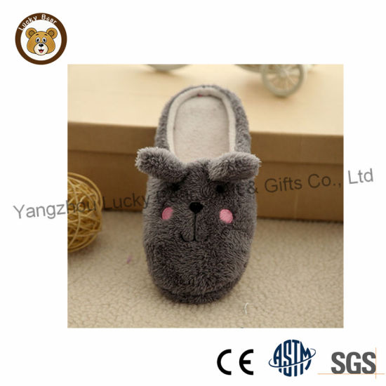 807c47658b1 China Hot Sale Winter Cute Animal House Soft Plush Slippers for ...