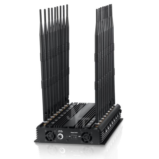 World First 18 Antennas Full All in One Cell Phone Signal Jammer Blockingcellphone GPS WiFi 5.2g. 5.8g with Remote Control pictures & photos