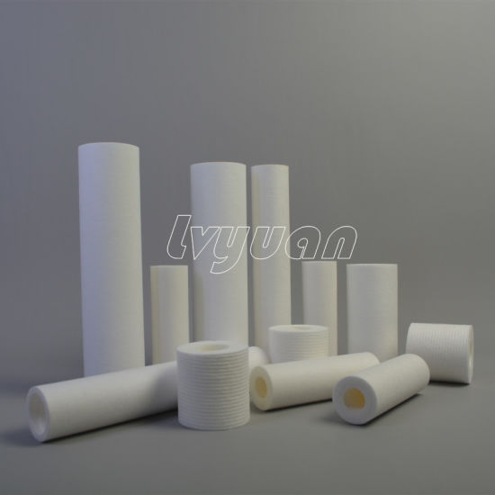 1 Micron and 5 Micron PP Melt Blown Filter Cartridge/Melt-Blown Water Filter pictures & photos