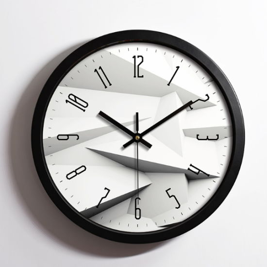 Cheap 10 Inch Home Decor Plastic Wall Clock pictures & photos