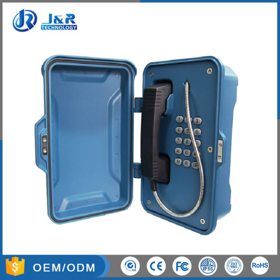 Ruggedized Water Voip Telephone For Hazardous Industry Tunnel Emergency Sip