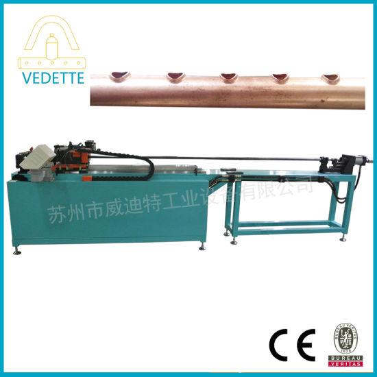 Air Conditioner Cooling System Metal Copper Pipe Punch Machine