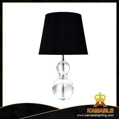 Transparent Crystal Decoration Black Table Lamp (TL3082)