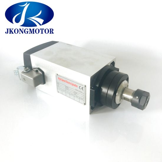 3kw Er20 Air - Cooled 220V Air Cooling CNC Square Spindle Motor for Wood Cutting pictures & photos