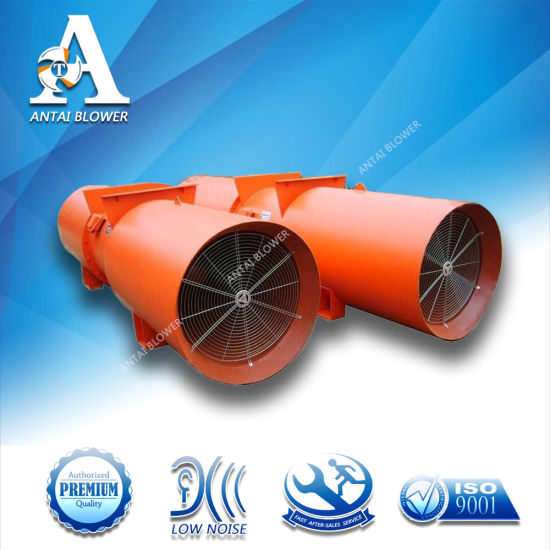 OEM Direct Supply Low Noise Tunnel Fan/Tunnel Axial Fan Blower for Long Distance Air Supply