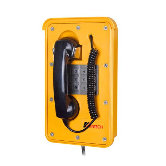 Knsp-11 Mining Telephone Heavy Duty Telephone Weatherproof Phone