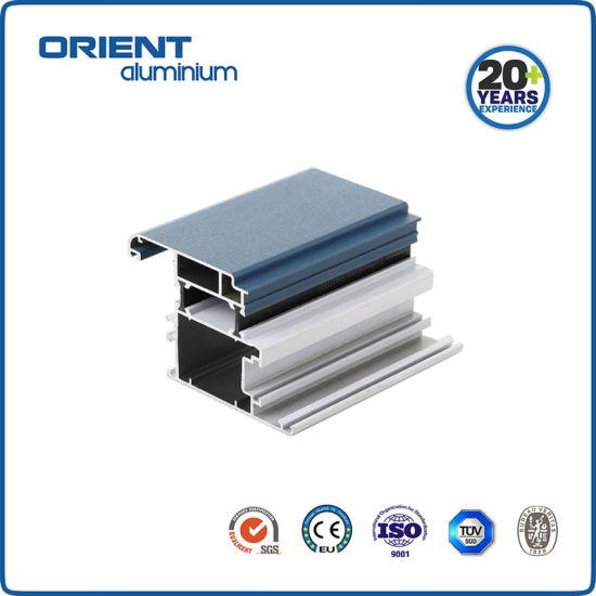 Custom Factory Aluminium Profile 6063 Anodized for Colombia