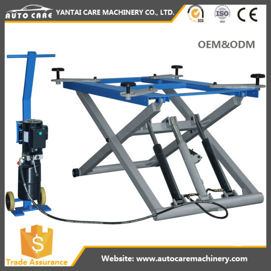 Scissor Type Hydraulic Lift (4 Ton) with Good Price
