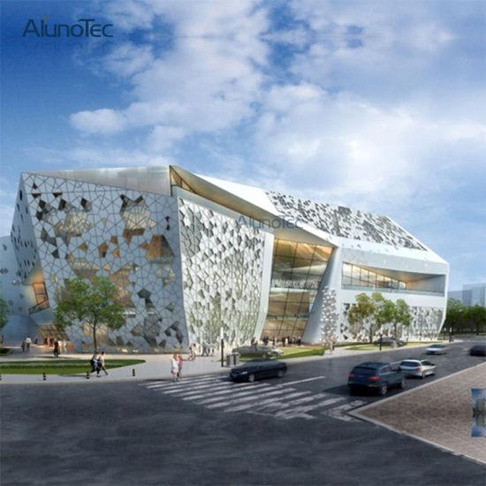 2018 Aluminum Exterior Decorative Building Facades