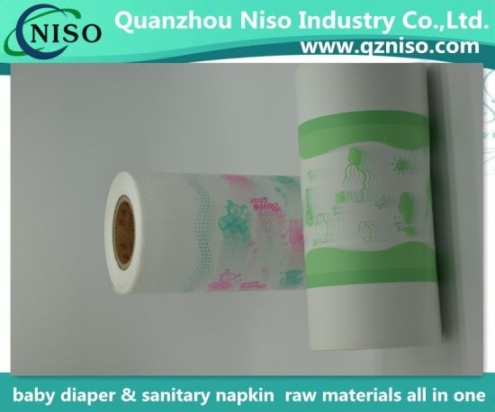 Soft PE Film Backsheet for Diaper/Sanitary Napkin/Under Pad Making