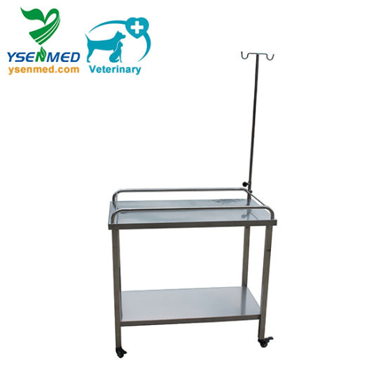 Ysvet1103 Veterinary Hospital Mobile Vet Infusion Dog Infusion Table pictures & photos