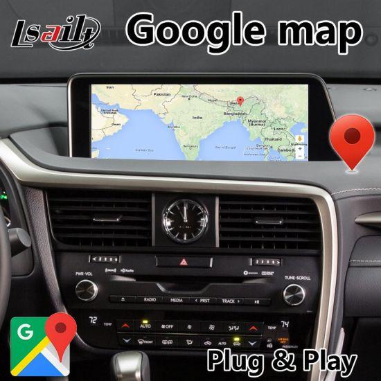 China Android 7 1 Car GPS Navigation Interface Box for Lexus
