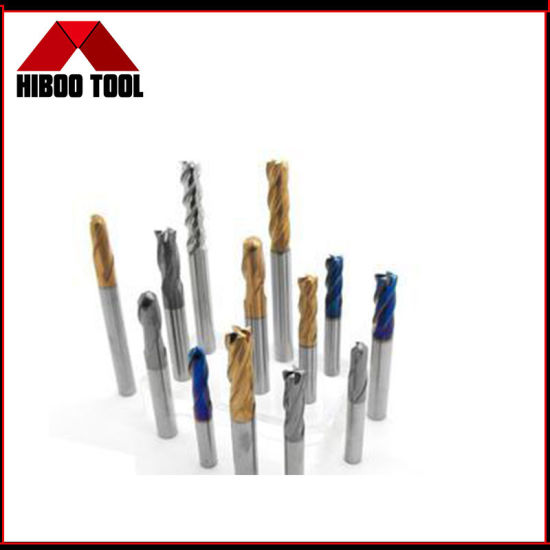 Long Life Solid Carbide Square End Mill for Hardened Steel Factory Outlet