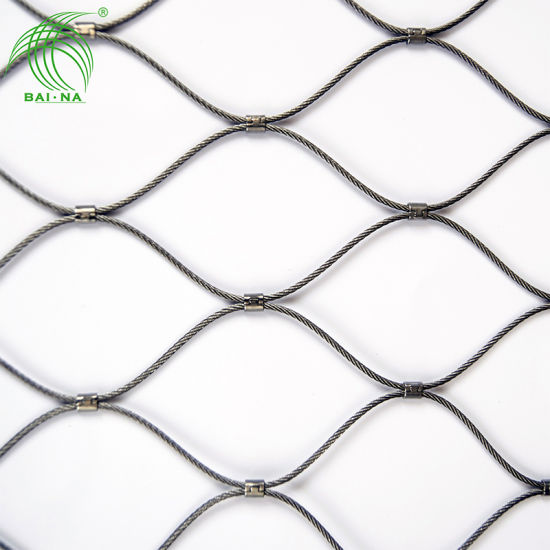 High Quality Stainless Steel Cable Wire Rope Mesh Net