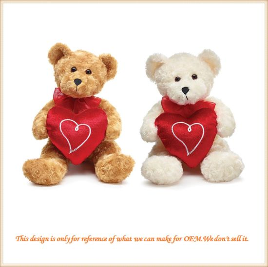 valentines day teddy bear couple