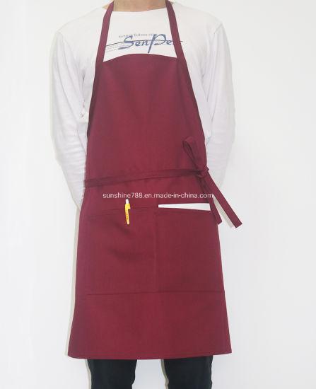 Custom Restaurant Kitchen Cooking Coffee Chef Bib Apron