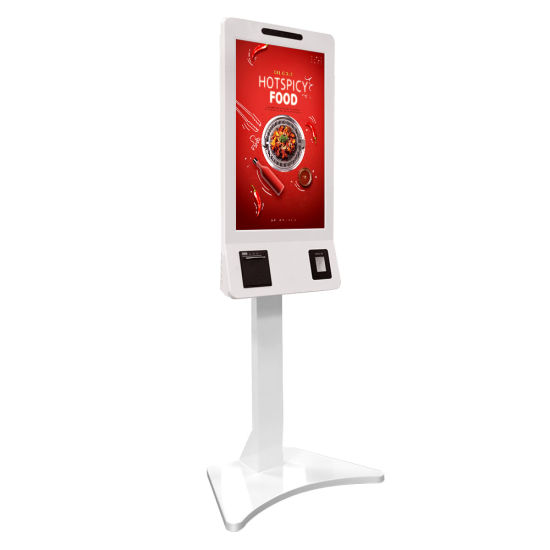 New Self Service Payment Touch Screen Order Terminal Machine with Printer/POS System/Camera