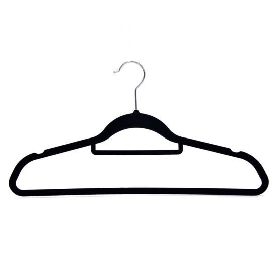 Adult Suits and Shirt Plastic Hanger with Belt Bar