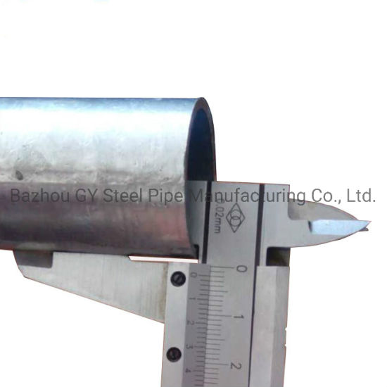 Construction Material Galvanized Steel Pipe Gi Steel Tubes Factory Price