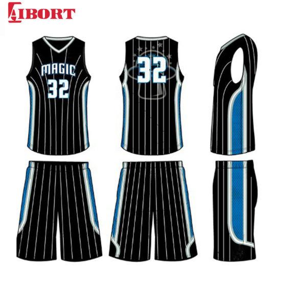 Aibort 2020 Newest Custom Sublimation Men's Basketball Jerseys/Shorts (J-BSK011 (1))