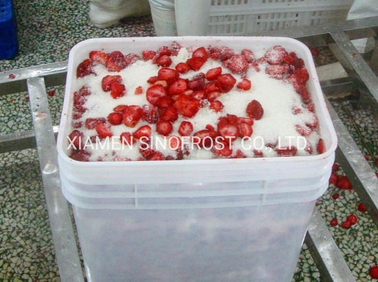 Frozen Strawberries in Sugar, Frozen Strawberries with Sugar,Strawberry Puree,IQF Strawberry,Frozen Strawberry,IQF Whole Strawberries, IQF Diced Strawberries