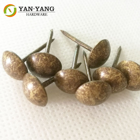 Yellow Spots Decorative Sofa Nails Copper Upholstery Nails